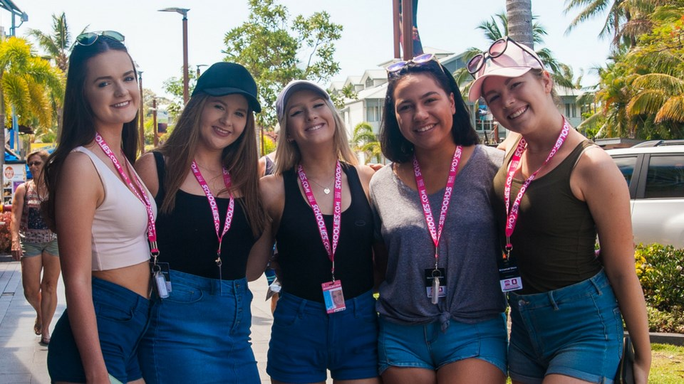 2018 schoolies on the Gold Coast