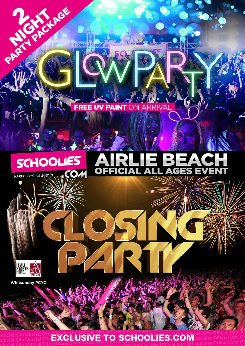 Airlie Beach Schoolies Playground Party