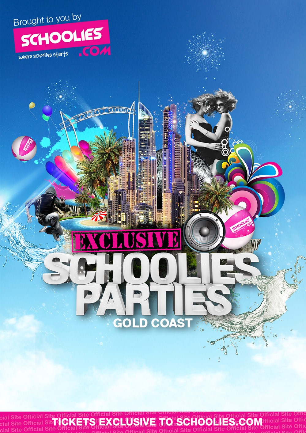 Gold Coast Schoolies Parties