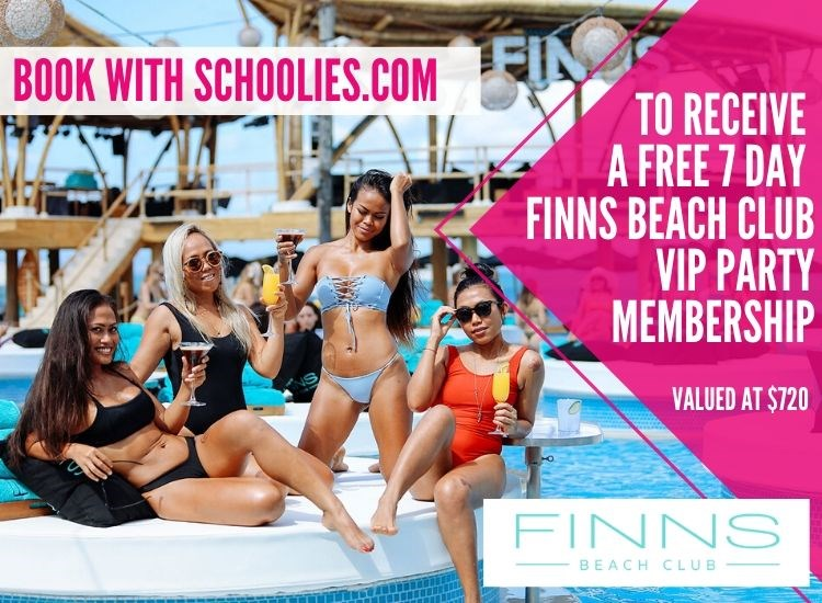 Finns Beach Club FREEBIE