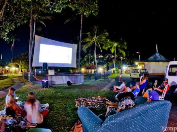 Nomads Airlie Beach - Outside Theatre