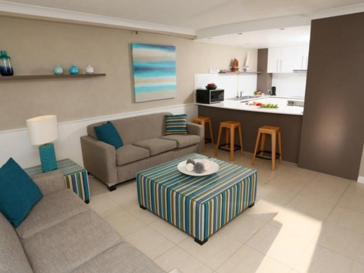Biarritz Apartments - Living Area