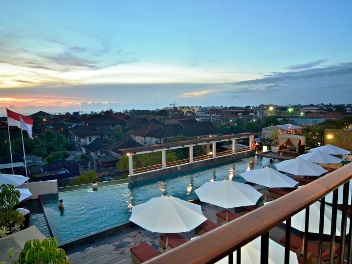 The One Legian Including Flights - Aerial Pool View