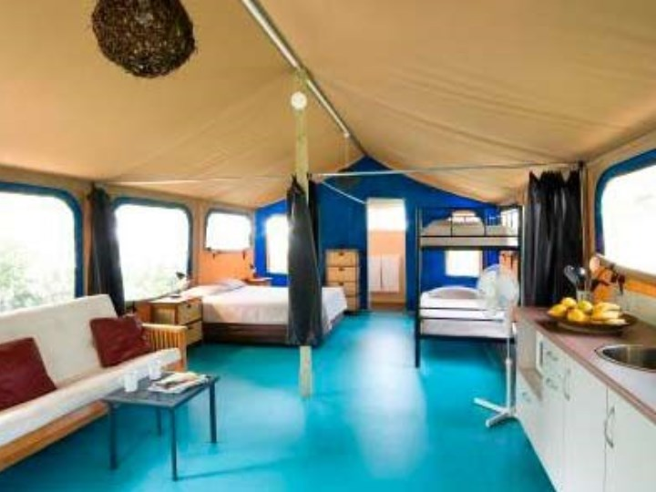 Suffolk Beachfront Holiday Park - Tent Interior