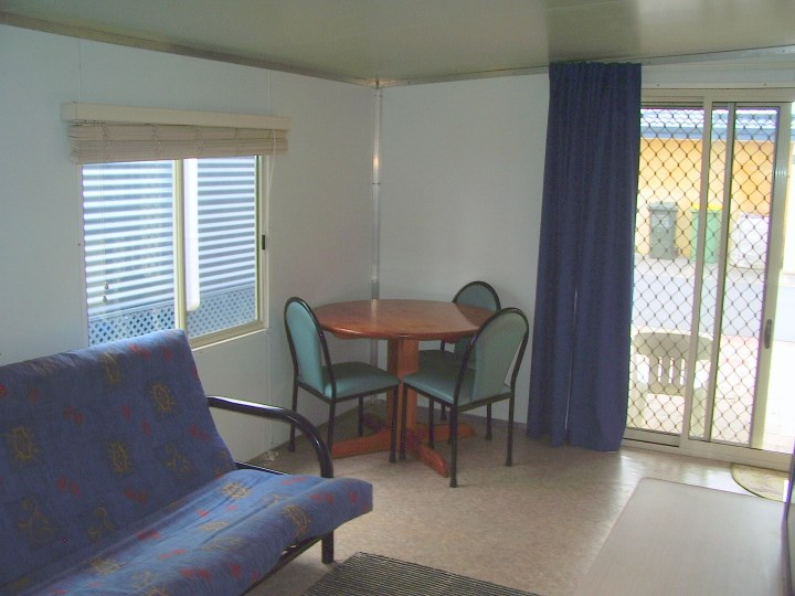 Onsite Caravan Second Living Area