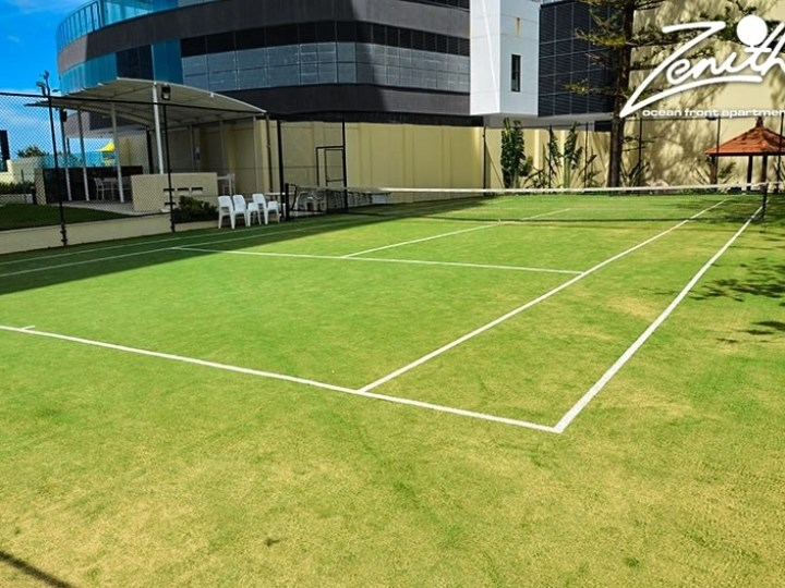 Zenith Oceanfront Apartments - Tennis Court