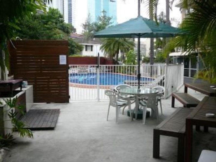 Sunset Court Holiday Apartments - Pool Area