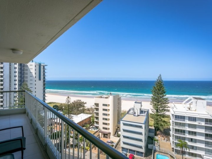 Surfers Beachside Holiday Apartments - Balcony View