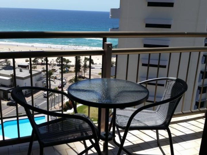 Beachcomber Surfers Resort - Balcony and Views