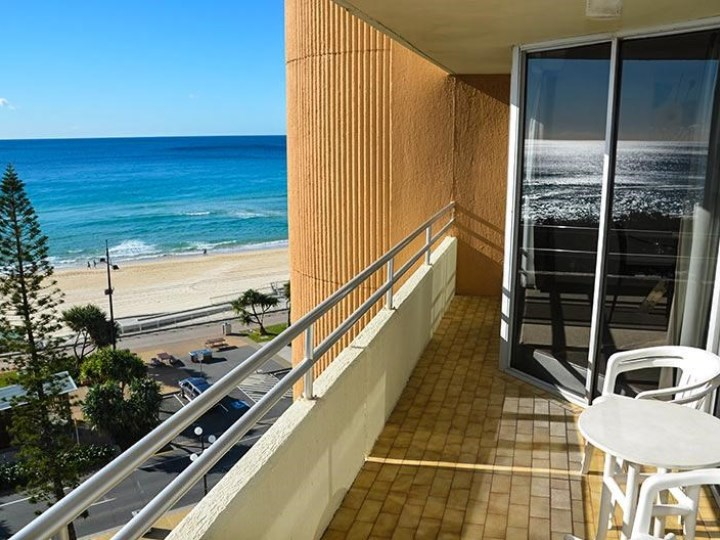 Zenith Oceanfront Apartments - Balcony View
